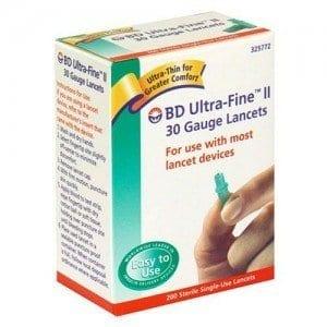 BD Ultra-Fine II Lancet