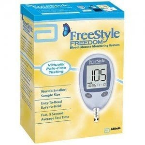 FreeStyle Freedom Glucose Meter