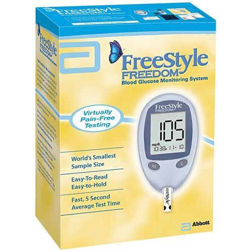 Freestyle Freedom Glucose Meter Diabetic Live