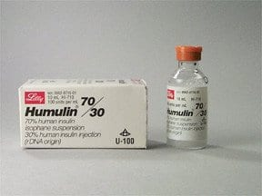 Humulin 70/30 - Diabetic Live