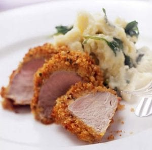 Pork Tenderloin with Roasted Garlic Mayonnaise