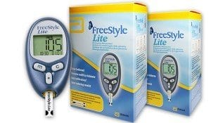 freestyle lite glucose meter review