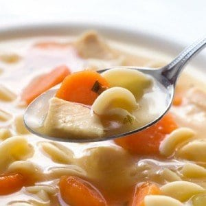 a low carb recipe for chicken soup