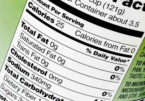 A New Makeover for Nutrition Labels